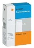 Herma Frankier Etiketten No. 4322 - 163x44mm weiß einzeln Packung 500 Etiketten