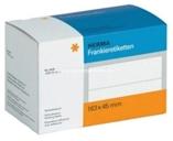 Herma Frankier Etiketten No. 4319 - 163x45mm weiß doppelt Packung 1000 Etiketten