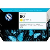 HP DesignJet 1050 - No. 80 C4848A Druckerpatrone - 350ml Yellow