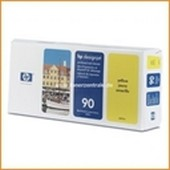 No. 90 - C5057A - HP Druckkopf Reiniger + HP Druckkopf Yellow