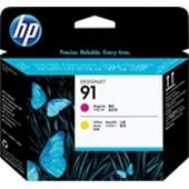 HP C9461A - HP Printhead No.91 - Magenta und Yellow für HP Designjet Z-6100