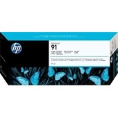 HP C9465A - HP Tintenpatrone No.91 - 775ml Photo Schwarz für HP Designjet Z-6100