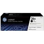 HP CB436AD - Toner 36A Doppelpack - je 2.000 Seiten Schwarz
