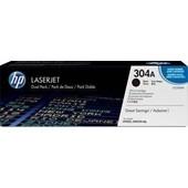 HP Color Laserjet CP 2320 - Toner CC530AD 304 Doppelpack - 2 x 3.500 Seiten Schwarz