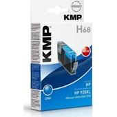 KMP H68 - Refill Tintenpatrone mit Chip (ersetzt HP No.920XL)  700 Seiten Cyan