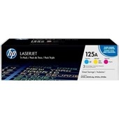 HP Color LaserJet CP 1210 - Toner MultiPack CF373AM No. 125A - Cyan, Magenta, Yellow je 1.400 Seiten
