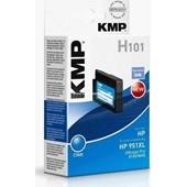 KMP H101 (ersetzt HP No. 951XL CN046AE) Tinten Druckkopf 1.500 Seiten Cyan