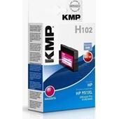 KMP H102 (ersetzt HP No. 951XL CN047AE) Tinten Druckkopf 1.500 Seiten Magenta