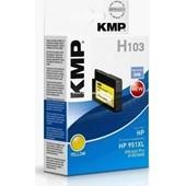 KMP H103 (ersetzt HP No. 951XL CN048AE) Tinten Druckkopf 1.500 Seiten Yellow
