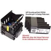 HP Officejet Pro 8610 - Druckkopf CR324A 950XL incl. 4 x Druckerpatronen