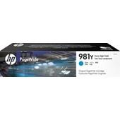 HP Enterprise 586 - L0R13A 981Y Druckerpatrone - 16.000 Seiten Cyan