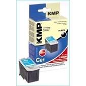 KMP C61 (ersetzt Canon PG37) Tintenpatrone (11ml) Schwarz