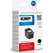 KMP C77 (ersetzt Canon PG510) Tintenpatrone (9ml) Schwarz