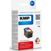 KMP C78 (ersetzt Canon CL511) Tintenpatrone HC 9ml - Color
