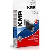 KMP C94 Tintenpatrone (ersetzt Canon CLI-551GYXL) - 275 Seiten Grey