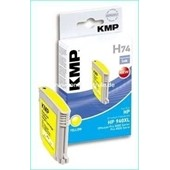 KMP H74 Tintenpatrone - ersetzt HP 940XL-C4909A - (1.400 Seiten) Yellow
