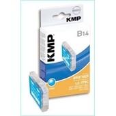 KMP B14 Tintenpatrone (ersetzt Brother LC970C) Cyan