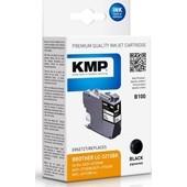 KMP B100 ersetzt Brother LC3213BK Schwarz 400 Seiten