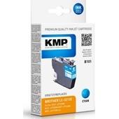 KMP B101 ersetzt Brother LC3213C Cyan 400 Seiten