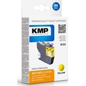 KMP B103 ersetzt Brother LC3213Y Yellow 400 Seiten