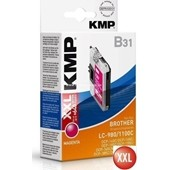 KMP B31 Tintenpatrone (ersetzt Brother LC980M und LC1100M) 14ml Magenta