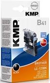KMP B41 Tintenpatrone - ersetzt Brother LC123B - 600 Seiten Schwarz