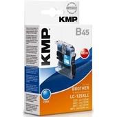 KMP B45 - ersetzt LC125XLC Tinte - 1.200 Seiten Cyan