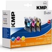 KMP B45V - erstzt LC125 XL Tinte Valuepack - je 1.200 Seiten Valuepack Cyan, Magenta, Yellow