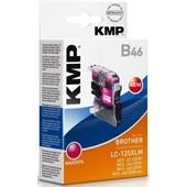 KMP B46 - ersetzt LC125XLM Tinte - 1.200 Seiten Magenta