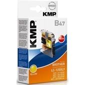 KMP B47 - ersetzt LC125XLY Tinte - 1.200 Seiten Yellow