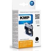 KMP B48 ersetzt Brother Druckerpatrone LC223BK Schwarz 550 Seiten