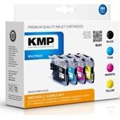 KMP B48V ersetzt Brother Multipack LC223 Schwarz, Cyan, Magenta, Yellow