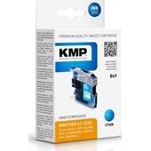 KMP B49 ersetzt Brother Druckerpatrone LC223C Cyan 550 Seiten