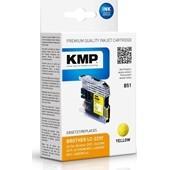 KMP B51 ersetzt Brother Druckerpatrone LC223Y Yellow 550 Seiten
