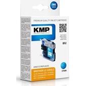 KMP B52 ersetzt Brother Druckerpatrone LC225C XL Cyan 1.200 Seiten