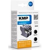 KMP B58D ersetzt Brother Druckerpatrone LC3217 Doppelpack Schwarz