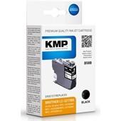 KMP B58B ersetzt Brother LC3217BK Druckerpatrone Schwarz 550 Seiten