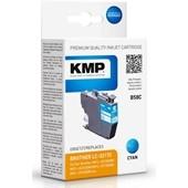 KMP B58C ersetzt Brother LC3217C Druckerpatrone Cyan 550 Seiten