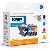 KMP B58VX ersetzt Brother LC3219XL VALDR MultiPack B C M Y