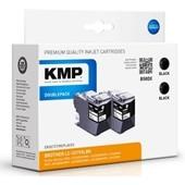 KMP B58DX ersetzt Brother LC3219XL Doppelpack Schwarz