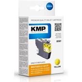 KMP B58Y ersetzt Brother LC3217Y Druckerpatrone Yellow 550 Seiten