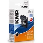KMP B64 Druckerpatrone ersetzt Brother LC127XLBK je 1.200 Seiten Schwarz