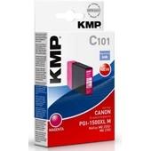 KMP C101 - ersetzt Canon Druckerpatrone PGI1500XLM - 1.020 Seiten Magenta