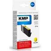 KMP C114 ersetzt Canon Druckerpatrone CLI581 XXL Yellow 824 Seiten