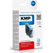 KMP C70 Druckerpatrone ersetzt Canon CLI8PC Photo Cyan