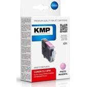 KMP C71 Druckerpatrone ersetzt Canon CLI8PM Photo Magenta