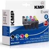 KMP E145V Multipack - ersetzt Epson T1816 - 470 Seiten Schwarz 450 Seiten Cyan, Magenta, Yellow