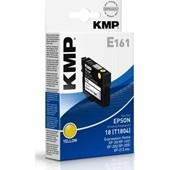 KMP E161 Tintenpatrone - ersetzt Epson T1804 - 180 Seiten Yellow