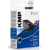 KMP E167 Druckerpatrone - ersetzt Epson T2601 - 240 Seiten 6,2ml Schwarz