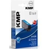 KMP E169 Druckerpatrone - ersetzt Epson T2612 - 330 Seiten 7,0ml Cyan